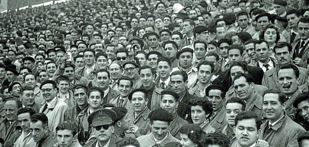 1954 | Real Sociedad - Real Madrid, con nueve goles en Atocha