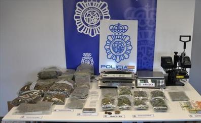 Detenidos en Aia cuatro miembros de una asociación de cannabis acusados de cultivar marihuana