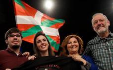 Irene Montero se arroga en Donostia el voto útil para Unidos Podemos «para frenar a las derechas»