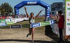 Trihas Gebre, campeona de España de cross por quinto año consecutivo