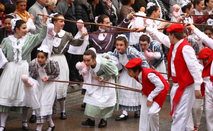 Desfile de iñudes en Errenteria