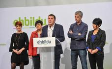 Otegi contrasta su acuerdo con ERC con las «dificultades» peneuvistas