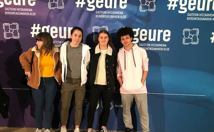 Decenas de adolescentes participan en #Geure