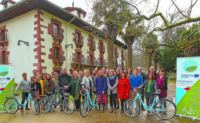 Potenciar la bicicleta en territorio transfronterizo de Navarra, Gipuzkoa y Pirineos Atlánticos