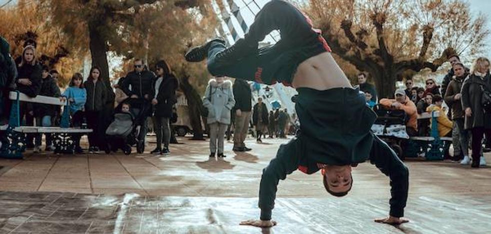 Aitor Bengoetxea: «No me marco como meta ser olímpico, para mí el breakdance es una forma de vida»