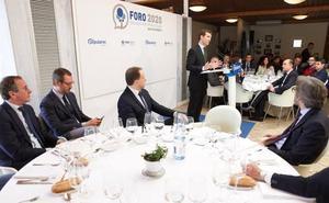 Casado defiende en Vitoria el Concierto Económico y muestra su respeto al Estatuto