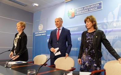 El plan normativo del Gobierno Vasco prevé una veintena de leyes y más de 100 decretos para 2019