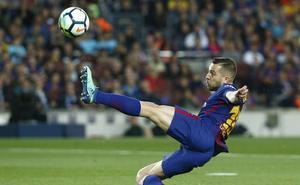 Jordi Alba renueva hasta junio de 2024