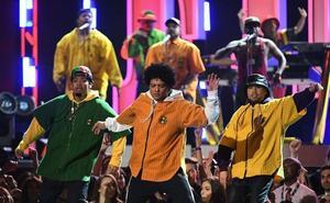 Los conciertos de Bruno Mars, los que más publico congregaron el año pasado