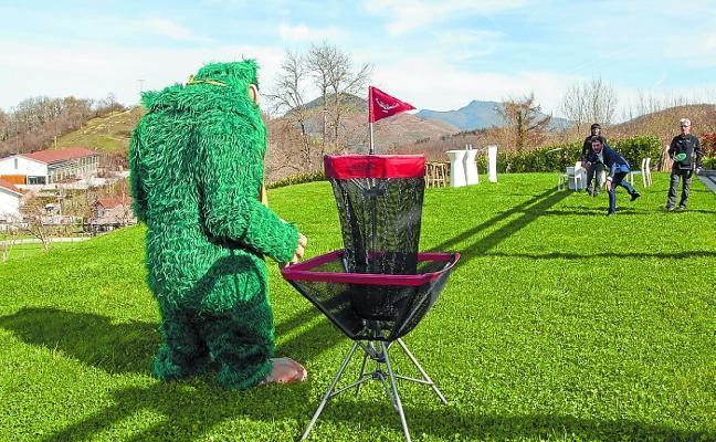IrriSarri Land reabre este sábado con campo de disc golf como novedad