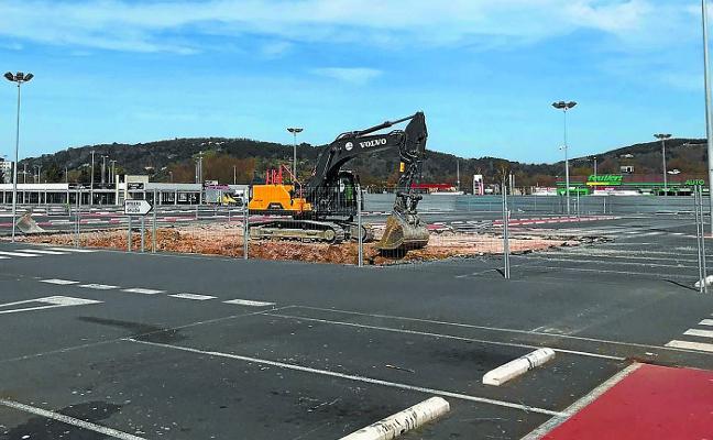 Arranca la obra del parking subterráneo de Garbera