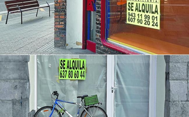 Los locales vacíos, a estudio para el impulso del comercio