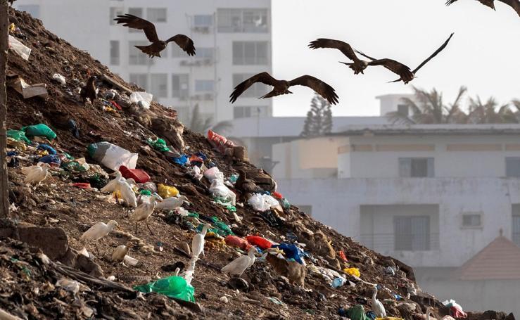 Crisis de residuos de plástico en Senegal