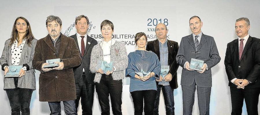 150.000 euro Euskadi Literatura Sariak hornitzeko
