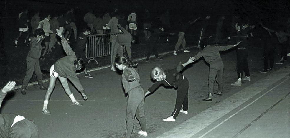 1979 | Auge de la práctica del 'footing' en San Sebastián