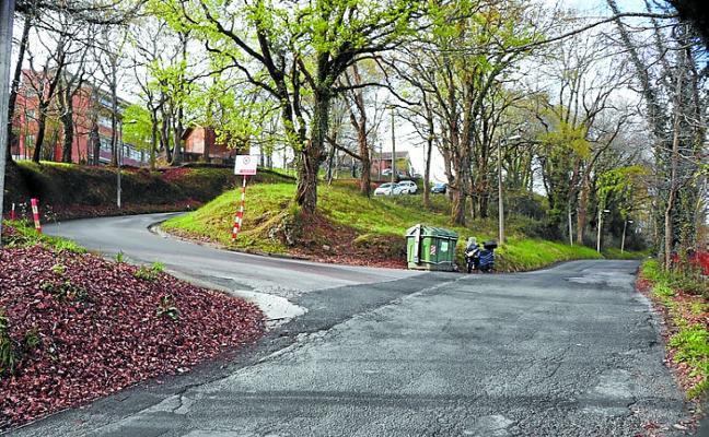 El Pleno dio el visto bueno al arreglo de la carretera Hipódromo - Landaberri