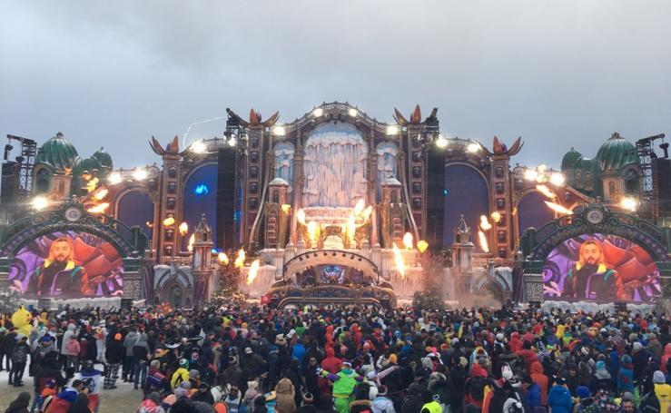 'Tomorrowland' sobre la nieve