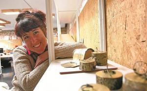 Agara Agirre impartirá la próxima semana un taller de joyas de papel
