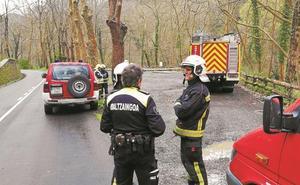 Dos bidones potencialmente peligrosos generaron ayer alarma en Hernani