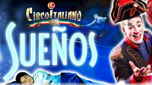 Il Circo Italiano acampa en San Sebastián con su nuevo espectáculo, 'Sueños'