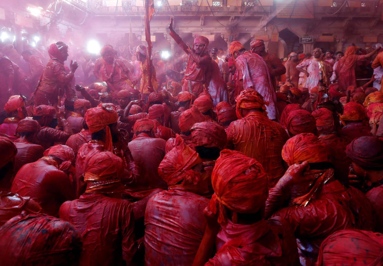 India, a todo color
