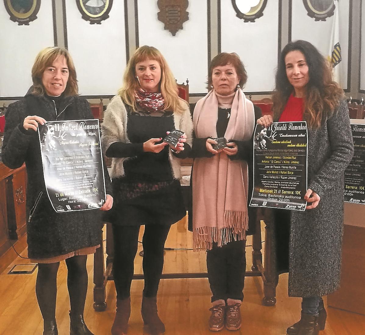 Bastero acoge el segundo festival flamenco 'Un grito de Mujer'