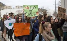 Jóvenes vascos contra el cambio climático