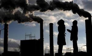 Concentración de estudiantes hoy en Donostia por el '15M climático'