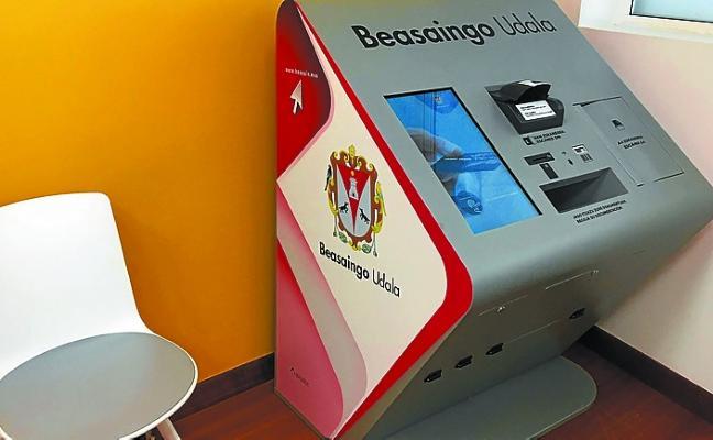Dos terminales para realizar los trámites municipales, ya operativos