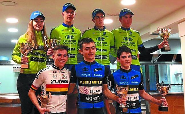 Buenos resultados de ciclistas del BAzpi en el inicio de la temporada