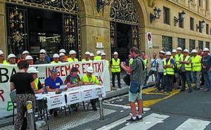 Los trabajadores de Ingemar inician una huelga indefinida