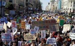 Jóvenes de todo el mundo claman contra el cambio climático