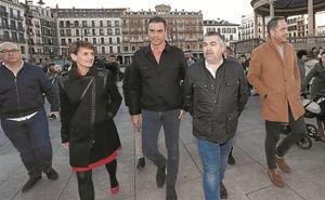 Sánchez alerta en pamplona del exceso de confianza