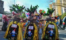 Bidebieta pone broche final al Carnaval