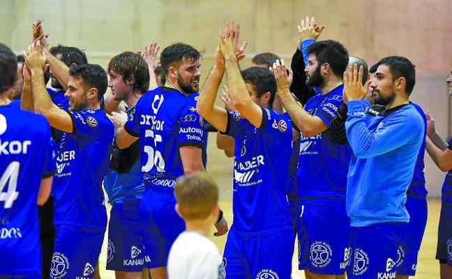 Tolosa CF Eskubaloia, con la mente puesta en la 'final' ante el Anaitasuna