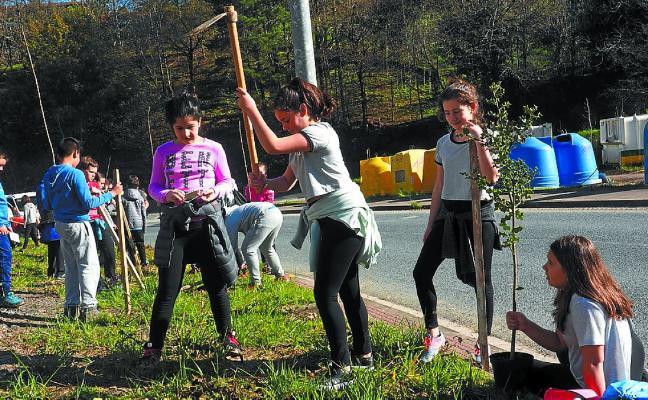 Elgoibar se cita con el Día del Árbol el 21 de marzo