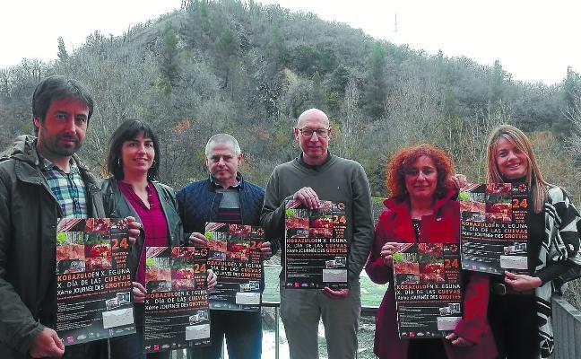 Lurpea celebra el domingo 24 la X edición del Día de las Cuevas