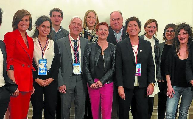 Los expertos climáticos, en Donostia