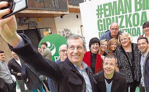 Olano pide que se dé «cauce» a su proyecto para construir una Gipuzkoa «fuerte»
