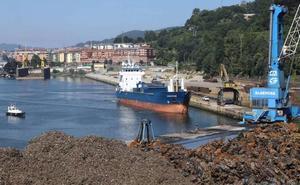 El Puerto de Pasaia mantiene el repunte iniciado el año pasado