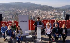Podemos Euskadi afirma que reivindicará «la agenda social vasca» en el Congreso