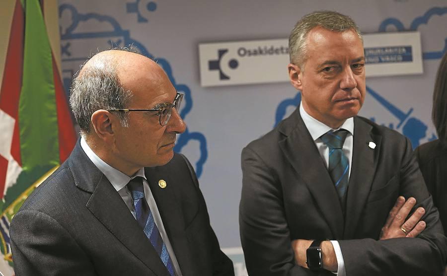 Urkullu rechazó hasta cuatro veces el cese de Darpón antes de dimitir