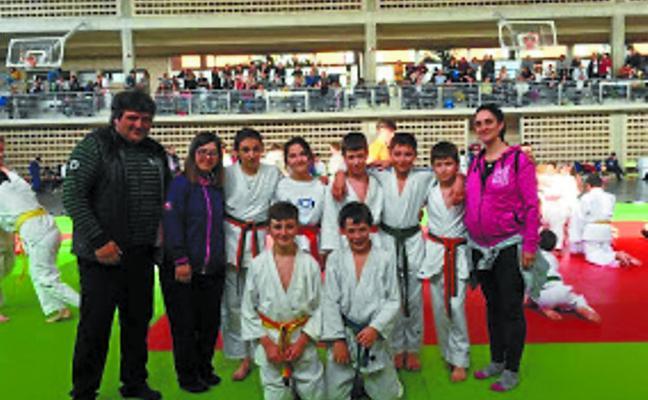 Buenos resultados del Erreka en los Juegos Deportivos de Judo