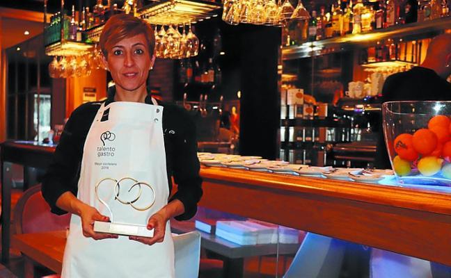 Romina Ríos, de Lavie Gastrobar, 'Mejor Coctelero' en los Premios Talento Gastro