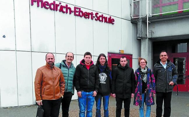 Visita de Usurbilgo Lanbide Eskola a Wiesbaden (Alemania)