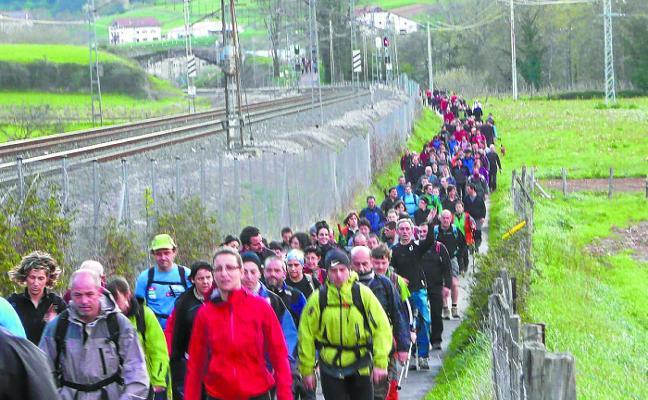 La 51 Marcha Regulada de montaña de Aizkardi se celebrará el día 31