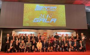 Reconocimientos en la gala de la RFEA para Jainaga, Gebre y Cid