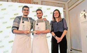 Gorka Rico y Javi Rivero, de Ama Taberna, premiados por tener la mejor barra de pintxos