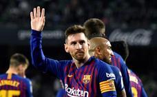 Messi sentencia la Liga