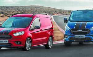 Ford dispondrá a mitad de año de una transit con 185 CV